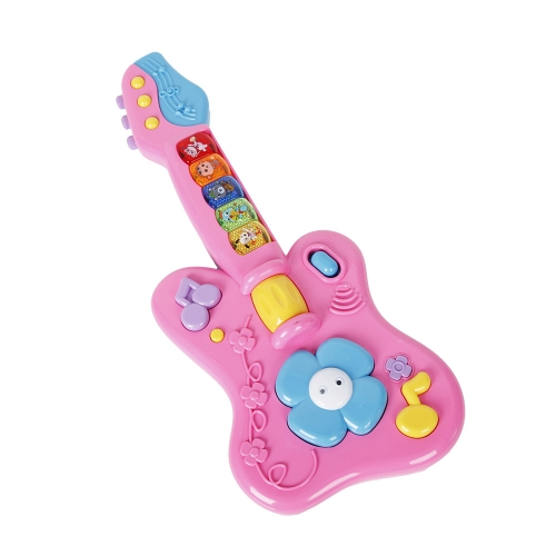 KARMAS PRODUCT Kids Cartoon Guitar Musical Instruments Children Early Education Gift