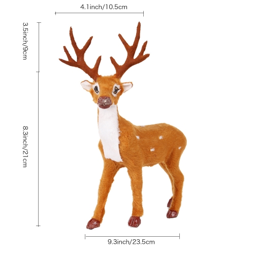 Reindeer Craft Art Decoration Ornaments for Home