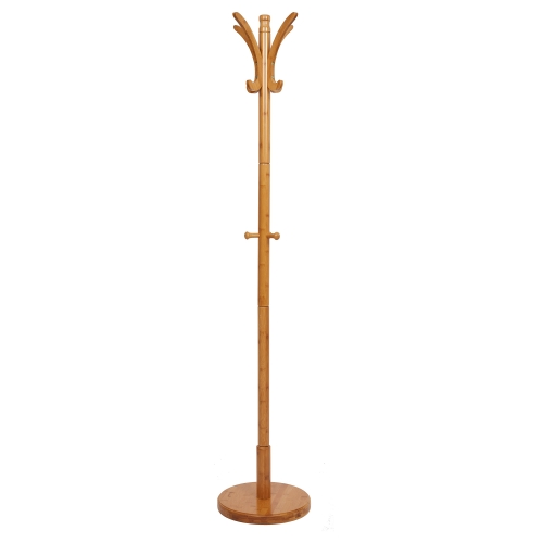 Coat rack 11 Hooks Log furniture for Jacket, Purse, Scarf Rack, Umbrella Tree Stand
