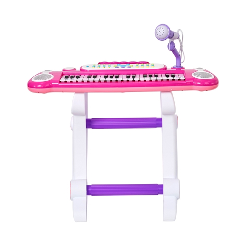 Musical Kids Electronic Keyboard 37 Key Piano with Microphone