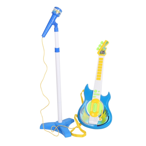 Kids Music Guitar Players Karaoke Toy with Micphone