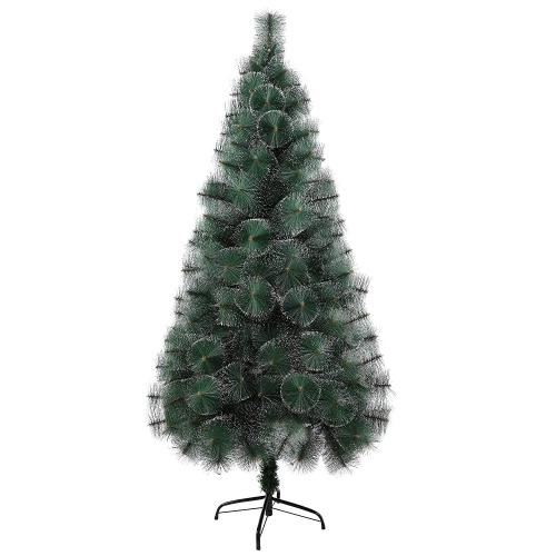 KARMAS PRODUCT 6 Ft Christmas Tree 212 Tips Decorate Pine Needles Tree Gold Dot Free Decoration Gift