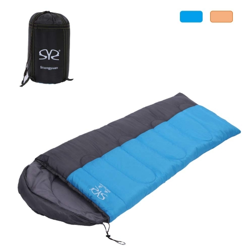 Boson Adult 3 Season OutdoorEnvelope Sleeping Bag Lightweight Portable for Backpacking Camping Hiking Traveling