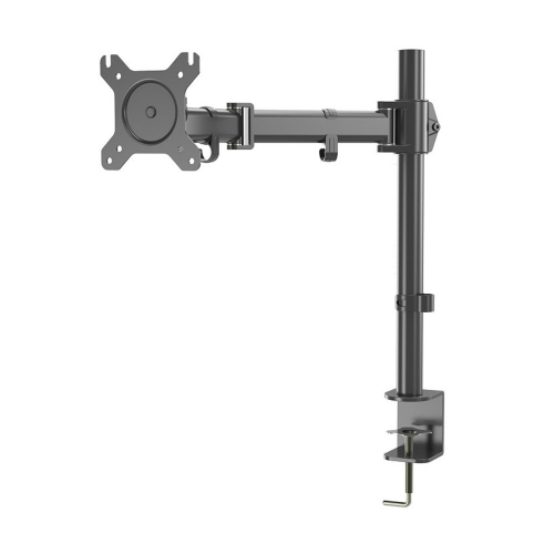 "Karmas Product Single LCD Monitor Stand,Adjustable Lift Engine Arm Mount,Suitable for13""-27""Computer Monitor"
