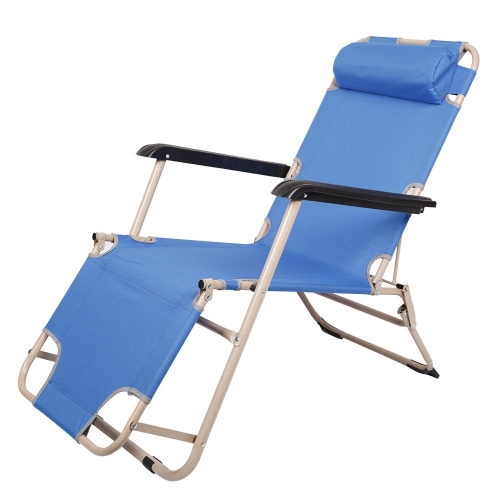 Karmas Outdoor Patio Chaise Lounge Chair Folding Recline