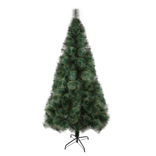 Karmas 7 Ft Christmas Tree 295 Tips Decorate Pine Needles Tree Gold Dot with Free Decoration Gift