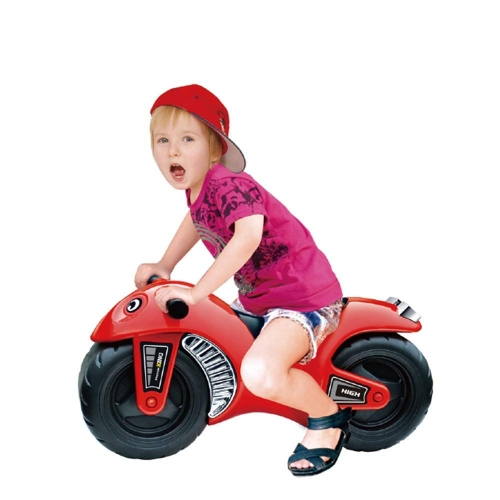 Colortree Kids Ride On Motorcycle Model Slide Ride On Toys Durable & Easy to Ride Toddler Bike,Red