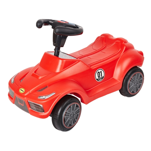 Karmas Push Car's Toddler Baby's Red Push Ride On Toy Car