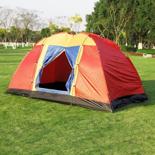 Boson Outdoor Easy Setup 8 Person Large Family Tent with Portable Bag for Camping Hiking Travelling Backpacking