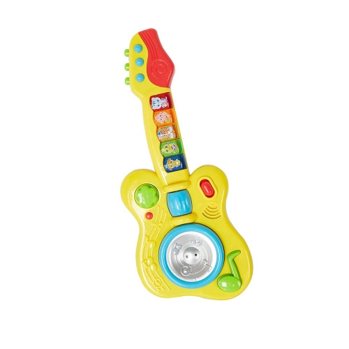 Colortree Kids 2 in 1 Electronic Musical Instruments Guitar Toys with Trumpet