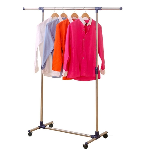 Karmas Rolling Clothes Rack Adjustable Garment Rack