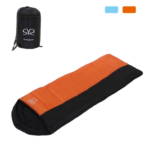 Boson Adult 3 Season Outdoor Envelope Sleeping Bag Lightweight Portable for Backpacking Camping Hiking Traveling