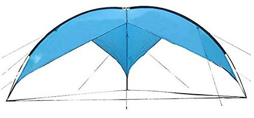 Livebest Outdoor Camping Beach Sun Awning Waterproof Large Triangle Shade Tents